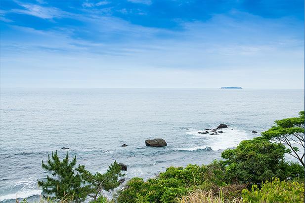 熱海のリゾートホテルUMITO VOYAGE ATAMIからの絶景ビュー